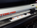 "a photo of Graphtec FC7000-130 MK2 Vinyl Cutter with Mark Reader - 54"" - Dallas, TX"