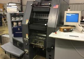 a photo of 2001 Heidelberg 46-4 DI Press with New Rollers, Supplies, RIP - 13,667,000 Impressions - Louisville, KY