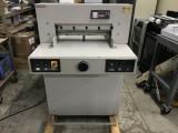 a photo of Triumph 5221-90 A Paper Cutter - Kewaskum, WI - Click for Video!