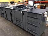 a photo of Konica Minolta Bizhub 1050 Black & White Printer with Stacker and Large Capacity Drawers - Nashville, TN
