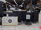 Digicoater Premiere Continuous or Spot UV Coater with Pile Feeder and Stacker