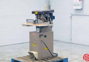 1989 Challenge EH-3A Three Spindle Hydraulic Paper Drill - Click for Video!