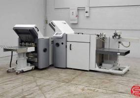 a photo of 2006 Heidelberg Stahlfolder TA-52 Fully Automatic Pile Feed Paper Folder with 8 Page Unit, Mobile Delivery Touch Screen and Sound Covers - Click for Video!