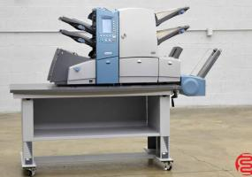 a photo of Pitney Bowes Fastpac DI600 Folding Inserting System with Vertical Stacker and Height Adjustable Table - Click for Video!