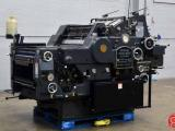 "a photo of 1973 Heidelberg KORD 64 18"" x 25 1/2"" (Grey Model) Offset Press with Long Box"