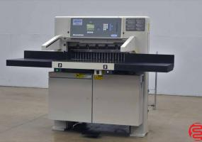 2007 Challenge Champion 305 XD Hydraulic Programmable Paper Cutter w/ Safety Lights and Air Table - Click for Video!