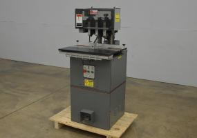 Baum ND5A Five Spindle Hydraulic Paper Drill - Click for Video!