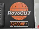 1996 RoyoCut S72 COMP+ Hydraulic Programmable Paper Cutter with MicroCut Jr and Air Bed - Click for Video!