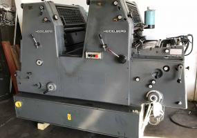 a photo of 1984 Heidelberg GTOZ 52+ with Molleton Dampening