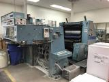 a photo of 1980 Man-Roland Parva RZP  2C Two Color Press with Extra Rollers and Extra Parts - Click for Video!