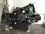 a photo of 1971 Heidelberg KORD 64, Black, Single Color Press with Molleton Dampening