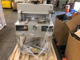 a photo of MBM Triumph 4810-95EP Programmable Cutter with Accessories - Sacramento, CA