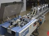 2003 Streamfeeder Quickwrap H-50-4 Automatic Polybag Wrapper System with Four V755 Feeders - Includes pallet of material - Click for Video!