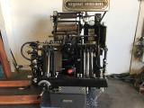 a photo of 1972 Heidelberg Windmill Platen Press (Minerva) / Gray / Foil / Numbering