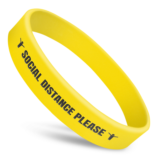 Social Distance Please Wristband