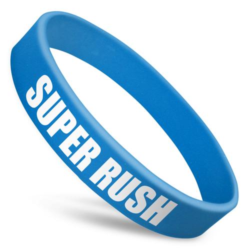 Super Rush Silicone Wristbands