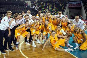 Spain U20 Women Basketball Team (Spain Captures Third Straight European U20 Women's Basketball Crown)