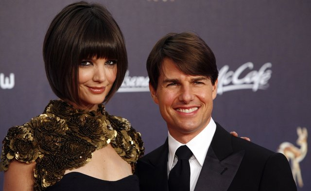 Katie Holmes and Tom Cruise (AP PhotoMiguel Villagran,File)
