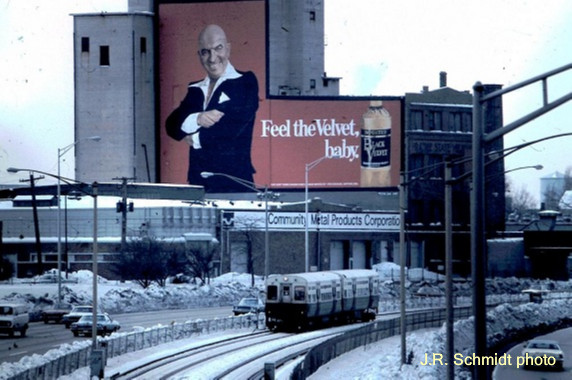 Median service on the Eisenhower Expressway, 1978