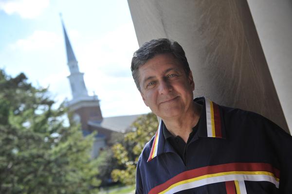 Elmhurst College President S. Alan Ray (WBEZ/Bill Healy)