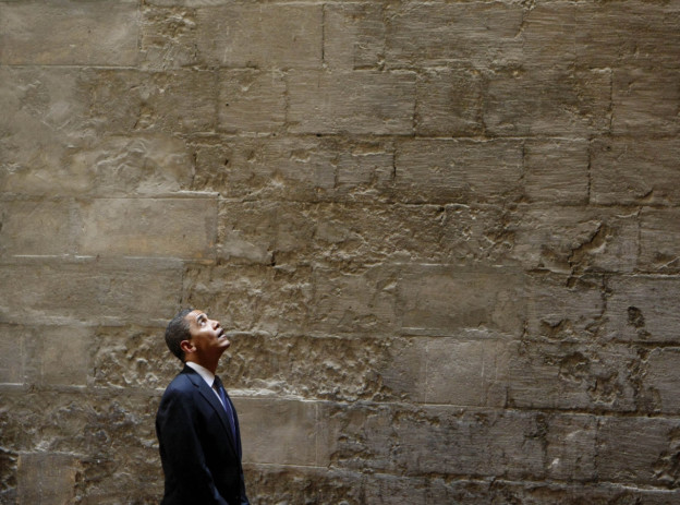 In this June 4, 2009, photo, President Barack Obama tours the Sultan Hassan Mosque in Cairo, Egypt. Obama is scheduled to visit the Islamic Society of Baltimore today. (Gerald Herbert/AP)