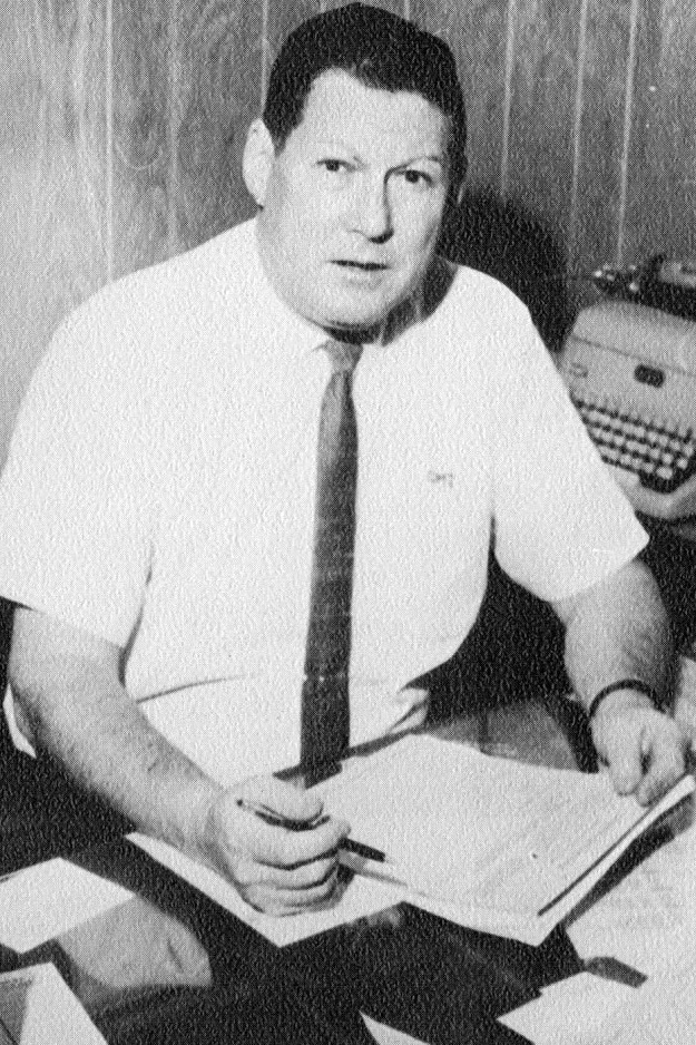 Coach George Ireland (author's collection)