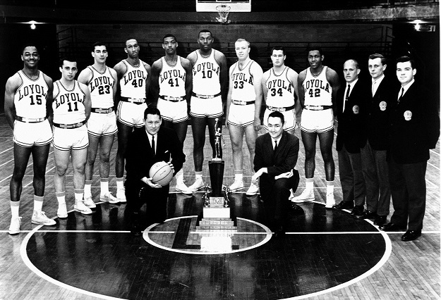 1962-63 Loyola Ramblers (courtesy Loyola University Chicago)