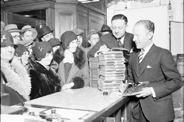 Gosden & Correll book signing (Library of Congress)