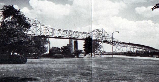 Skyway bridge over Calumet River (author's collection)