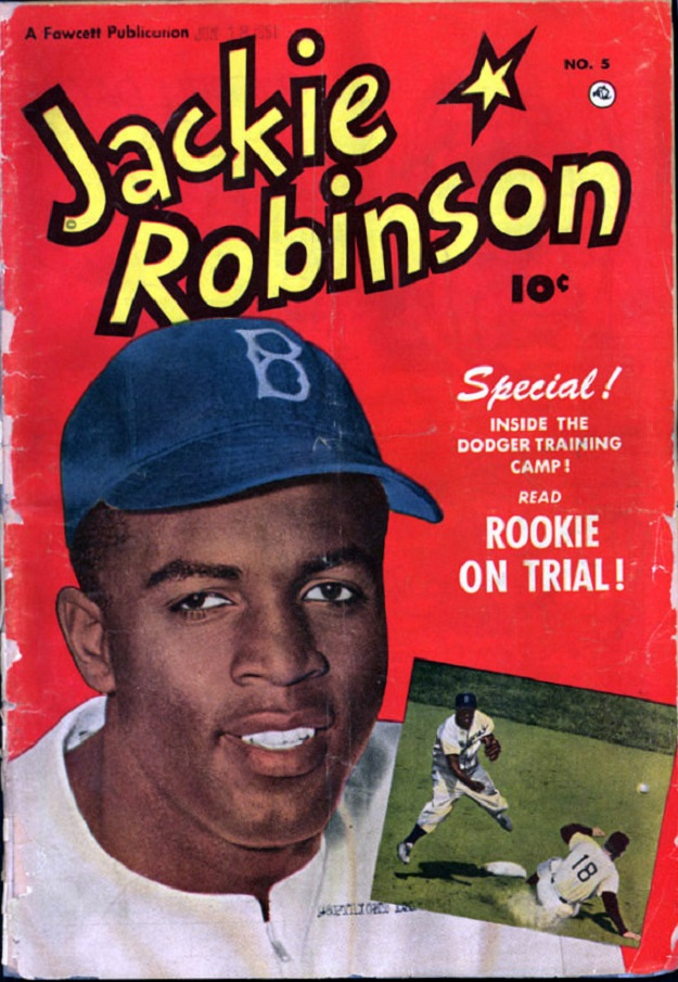 Jackie Robinson comic book (Library of Congress)