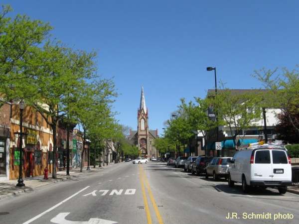 Downtown Skokie today