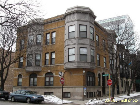President Reagan's Chicago home--832 E. 57th St.