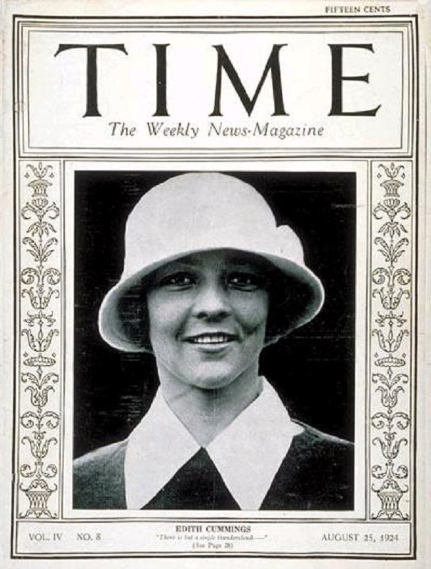 Chicago's own Edith Cummings ('Time'--August 25, 1924)