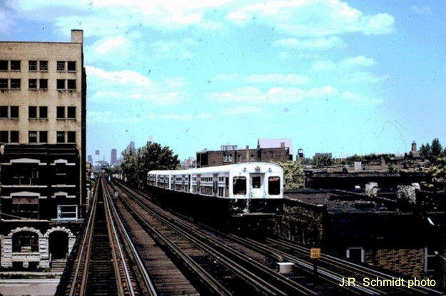 South Side 'L' at Pershing
