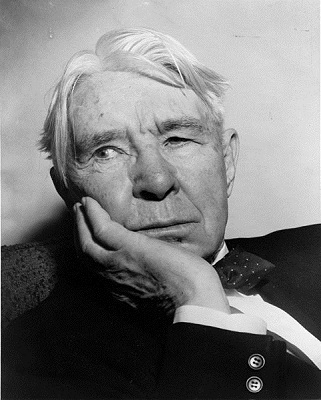 Carl Sandburg in 1955 (Library of Congress)