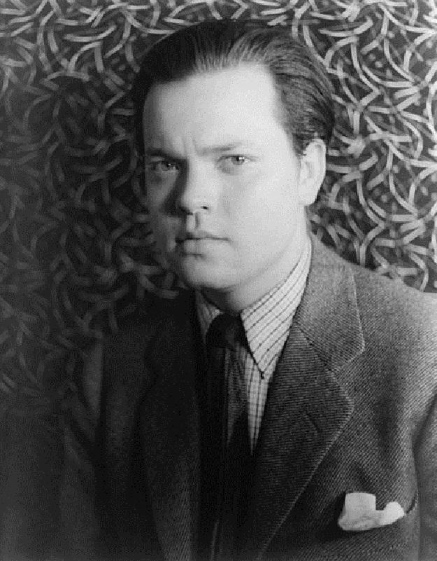 Young Orson Welles (Van Vechten photo, Library of Congress)
