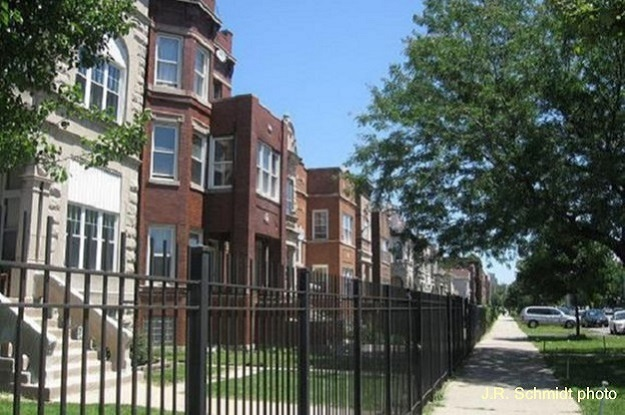 Renovated apartments on Washington Boulevard