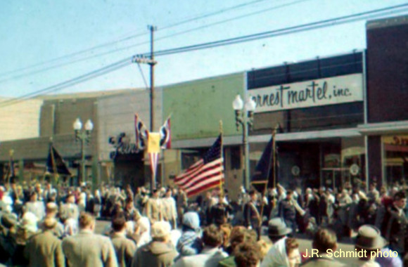 Neighborhood Fourth of July parade, early 1960s