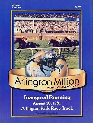 Program from the first Arlington Million (author's collection)
