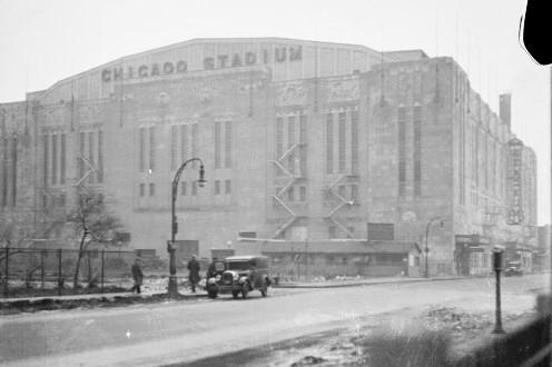 Chicago Stadium (Chicago Daily News)