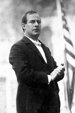 Bryan campaigning, 1896 (Library of Congress)