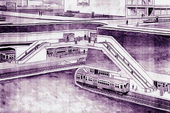 Wells Street Subway ('New Horizons')