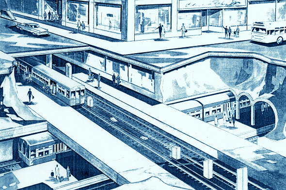 Jackson Boulevard Subway ('New Horizons')