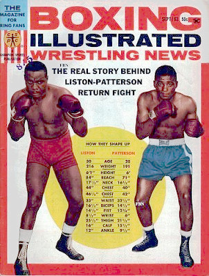 The second Liston-Patterson fight (author's collection)