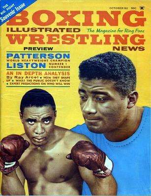The first Liston-Patterson fight (author's collection)