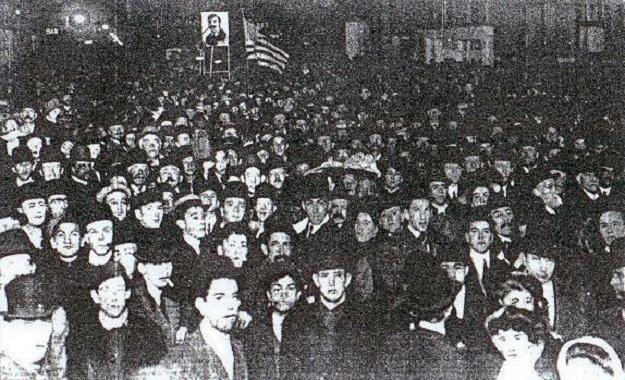 Gypsy Smith's marchers (Chicago Tribune)