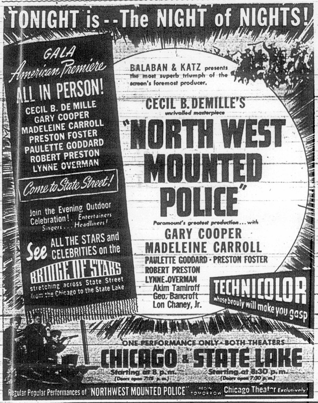 The big day is here! (Chicago Daily Times--October 23, 1940)
