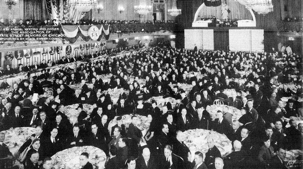 The Palmer House banquet (State Street Council Annual Report for 1940)