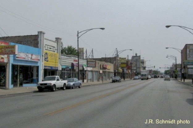 Archer Avenue at Whipple--view northeast