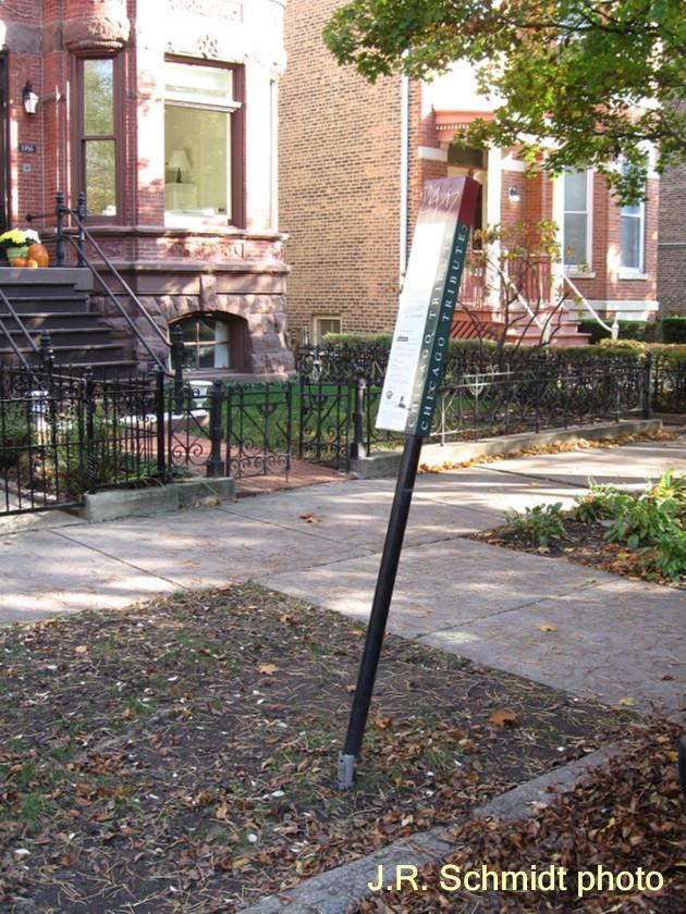 Algren 'Chicago Tribute' marker
